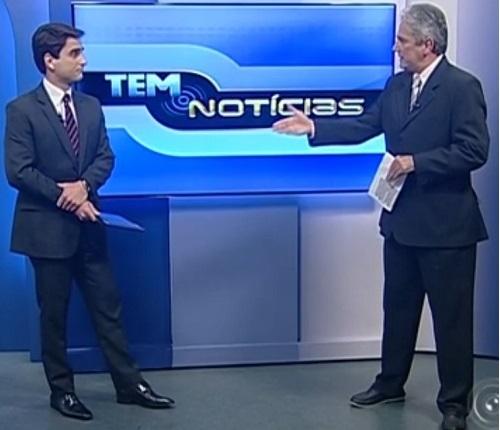 Falando sobre eleições com o apresentador Evandro Cini